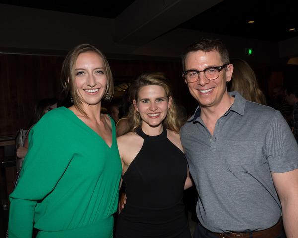 Maggie Darago, Katharine McDonough, and Jeff Skowron