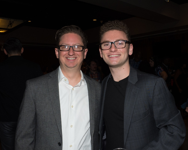 Music Director Brent Crayon and Michael Brian