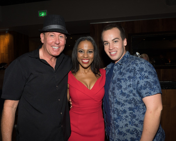 Jim Graft, Dance Captain Tawny Dolley, and Matthew Ballestero