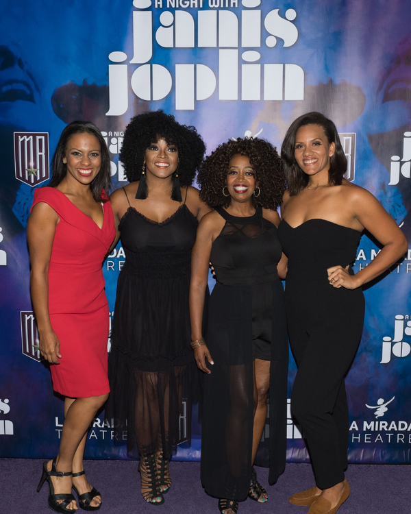 Tawny Dolley, Ashley Tamar Davis, Jennifer Leigh Warren, and Aurianna Angelique