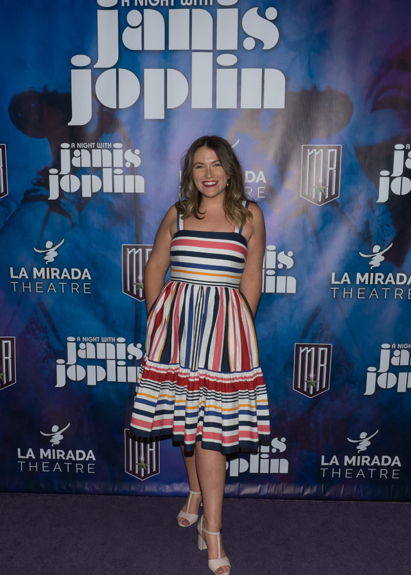Photo Coverage: Curtain Call And Press Night Celebration Of A NIGHT WITH JANIS JOPLIN At La Mirada Theatre