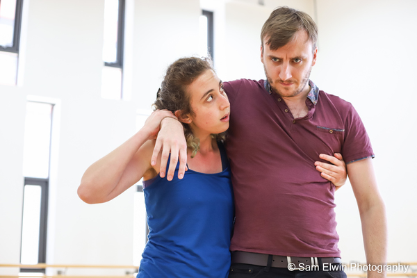 Photo Flash: Inside Rehearsal For JERICHO'S ROSE at Althea Theatre