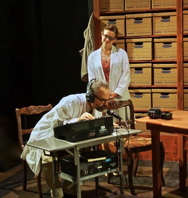 Photo Flash: First Look at Mad Horse Theatre's THE LANGUAGE ARCHIVE