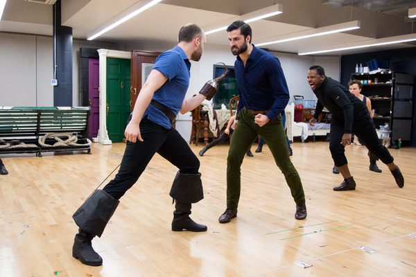 Photo Coverage: Barrie's Back! Meet the Company of the FINDING NEVERLAND National Tour