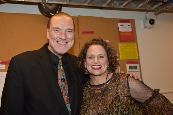 Jon Webber and Cady Huffman
