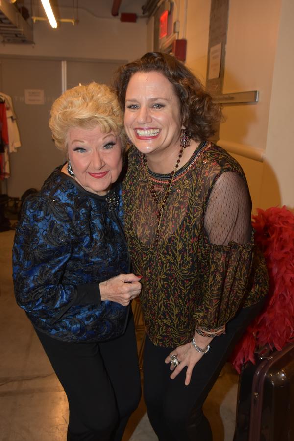 Marilyn Maye and Cady Huffman