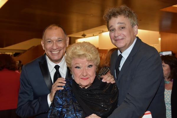 Frank Dain, Marilyn Maye and SIdney Myer