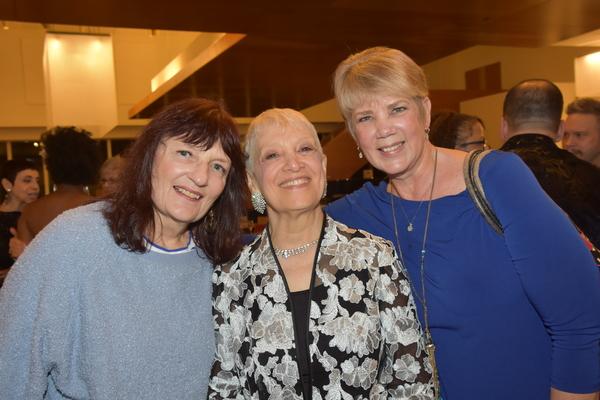 Martha Lorin, Marilyn Lester and Sue Matsuki