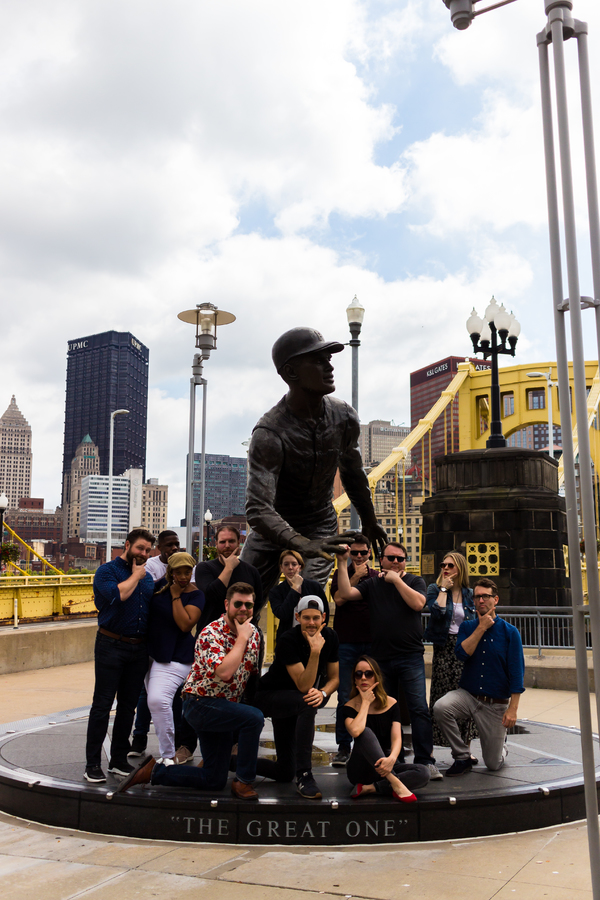 Photo Flash: THE PLAY THAT GOES WRONG Tour Cast Explores Pittsburgh
