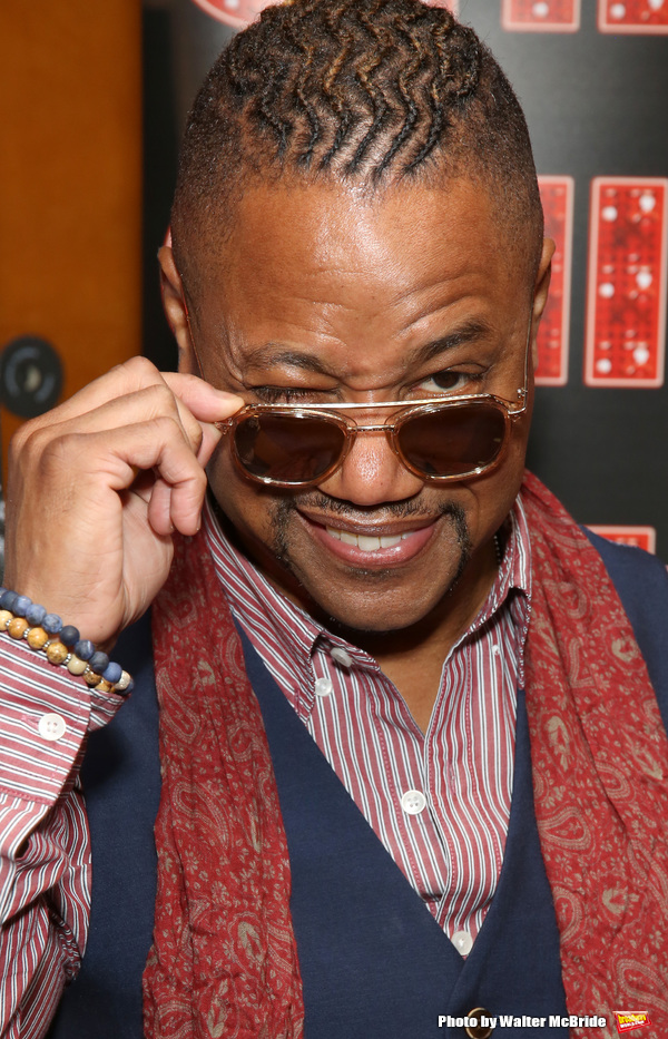 Photo Coverage: CHICAGO's New Billy Flynn, Cuba Gooding Jr., Meets the Press!