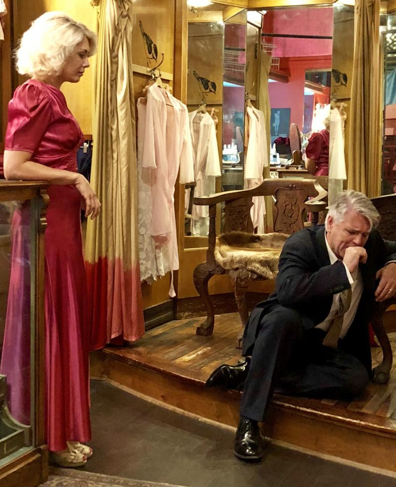 BWW Review: ELEGY FOR A LADY at Open Spaces
