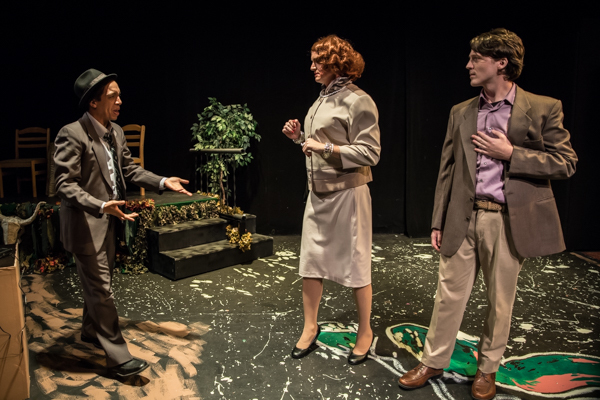 Photo Coverage: First look at Evolution Theatre Company's DEVIL BOYS FROM BEYOND