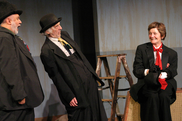 Photo Flash: First Look at the West Coast Premiere of OLD CLOWN WANTED