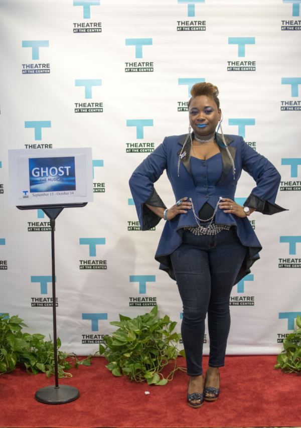 Lead actor Donica Lynn at the Opening Night of Ghost The Musical at Theatre at the Center in Munster.