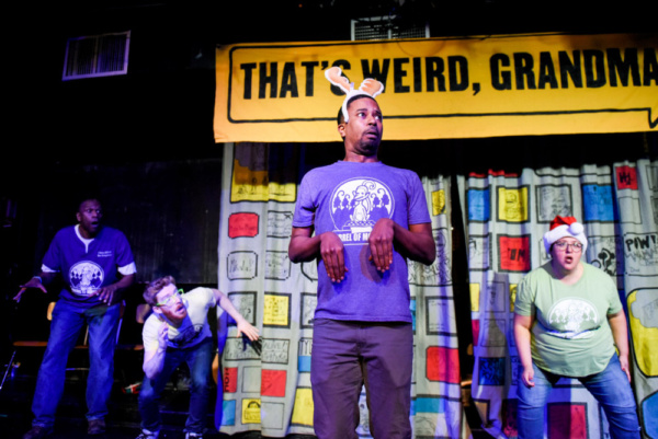 Photo Flash: Barrel Of Monkeys' THAT'S WEIRD, GRANDMA Will Ring In The Holidays At The Neo-Futurist Theater