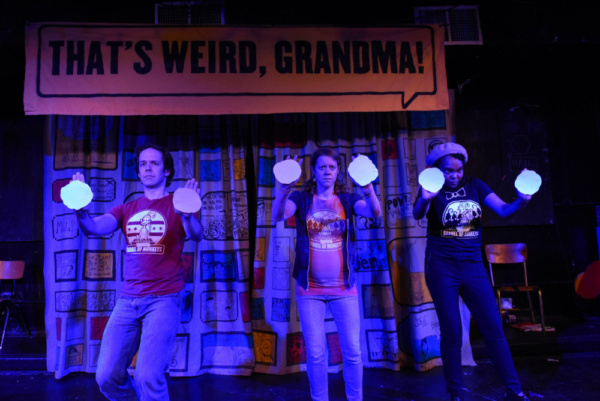 Caleb Probst, Meredith Milliron and Ashley Bland Photo