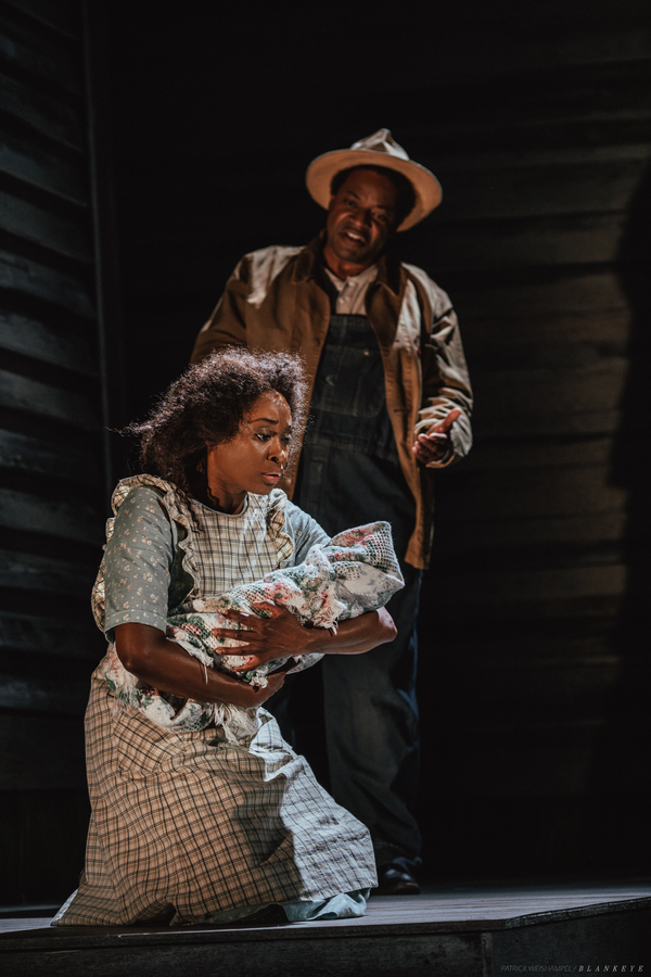 Felicia Boswell as Celie and C. Mingo Long as Pa