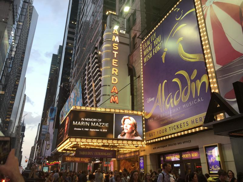 Social: Broadway Dims its Lights to Celebrate the Life and Career of Marin Mazzie