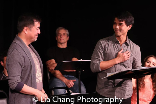 Alan Ariano, Alex Sanchez, Telly Leung, Jane Bernhard Photo