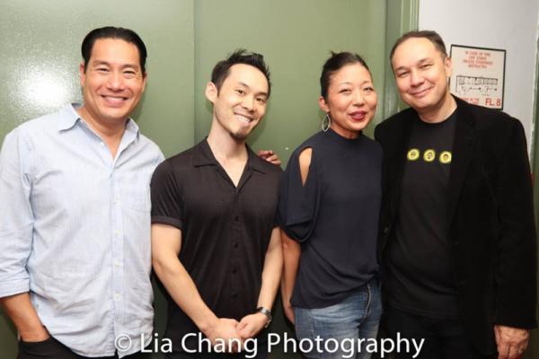 Director Darren Lee, Composer Paul Fujimoto, Producer and Book Writer Lainie Sakakura, Author Jamie Ford.