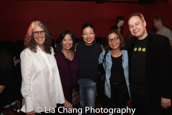 Lauren Weissman, Jennie Lew Tugend, Lainie Sakakura, Diane Quon and Jamie Ford