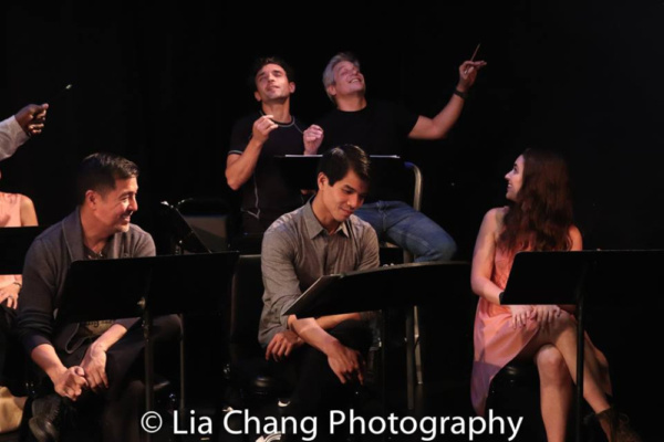 Alan Ariano, Telly Leung, Rick Faugno, Alex Sanchez, Jane Bernhard Photo