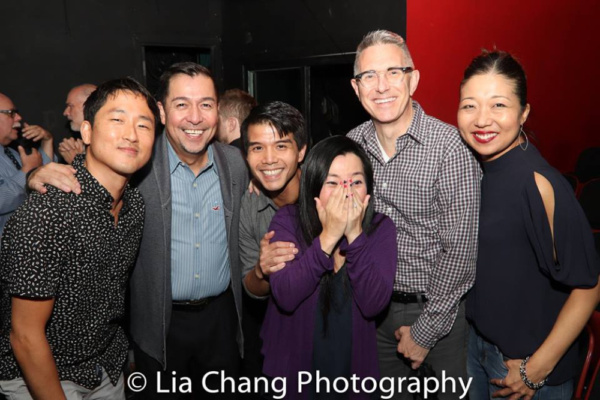 FLOWER DRUM SONG reunion for Daniel May, Alan Ariano, Telly Leung, Yuka Takara, Robert Longbottom and Lainie Sakakura