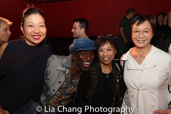 Lainie Sakakura, Kenny Ingram, Baayork Lee, Tisa Chang