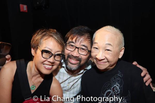 Nina Zoie Lam, Fenton Li and Lori Tan Chinn