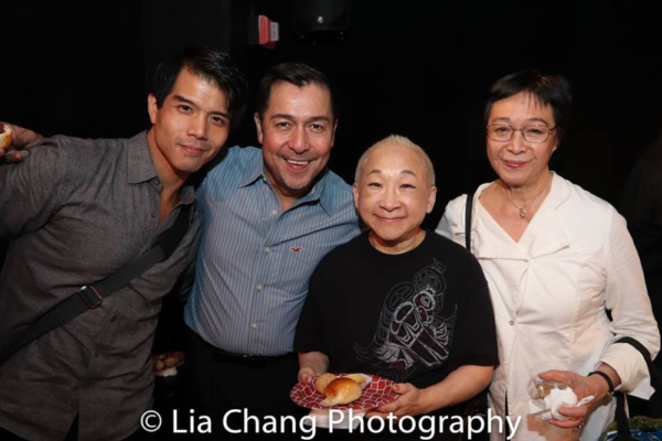 Telly Leung, Alan Ariano, Lori Tan Chinn and Tisa Chang
