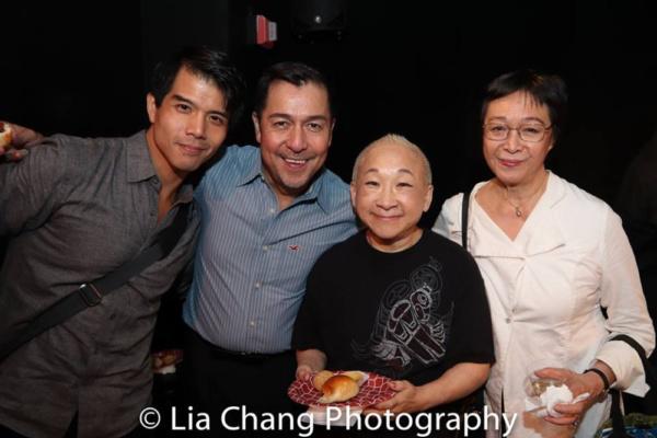 Telly Leung, Alan Ariano, Lori Tan Chinn and Tisa Chang