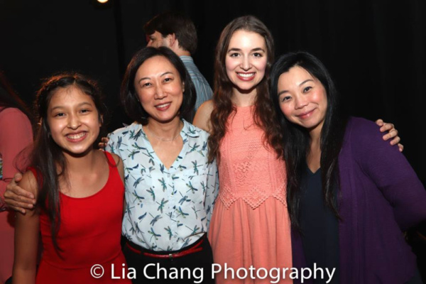 Avelina Sanchez, Carol To Moy, Jane Bernhard, Yuka Takara Photo