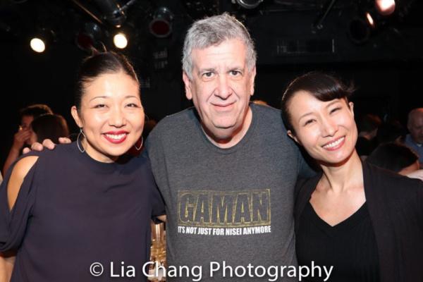 Lainie Sakakura, Elliott Masie and Rumi Oyama Photo