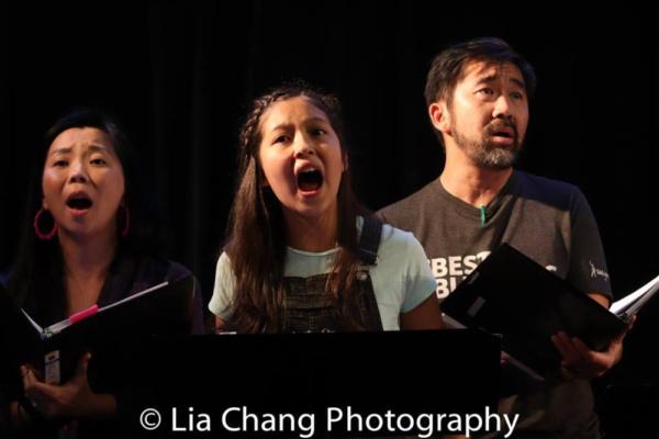 Yuka Takara, Avelina Sanchez and Fenton Li