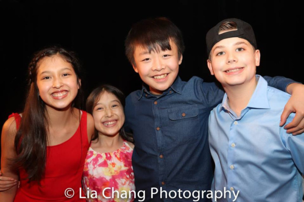 Avelina Sanchez, Isa Sanchez, Jeffrey Li and Joshua Turchin