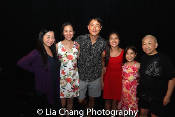 Yuka Takara, Lia Chang, Daniel May, Avelina Sanchez, Isa Sanchez and Lori Tan Chinn