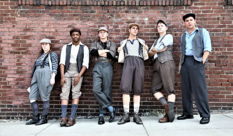 Thursday 5(+1): Ridley, Rankin, Petrille and Blake from Chaffin's Barn's NEWSIES