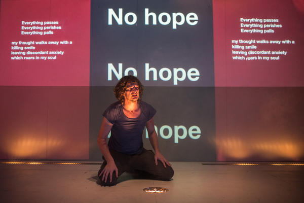 Photo Flash: First Look at Deafintiely Theatre's 4.48 PSYCHOSIS