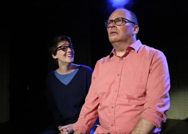 Amanda Collins and Richard Jay Sullivan. Photo