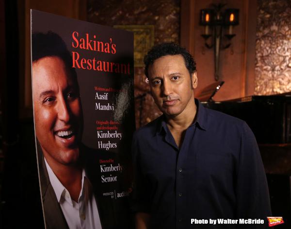 FREEZE FRAME: Aasif Mandvi Returns to SAKINA'S RESTAURANT