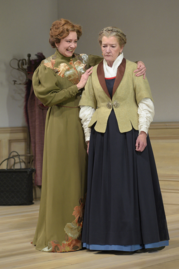 "Mary Beth Fisher (Nora) and Nancy E. Carroll (Anne Marie) in Berkeley Rep's production of ""A Doll's House, Part 2� directed by Les Waters."