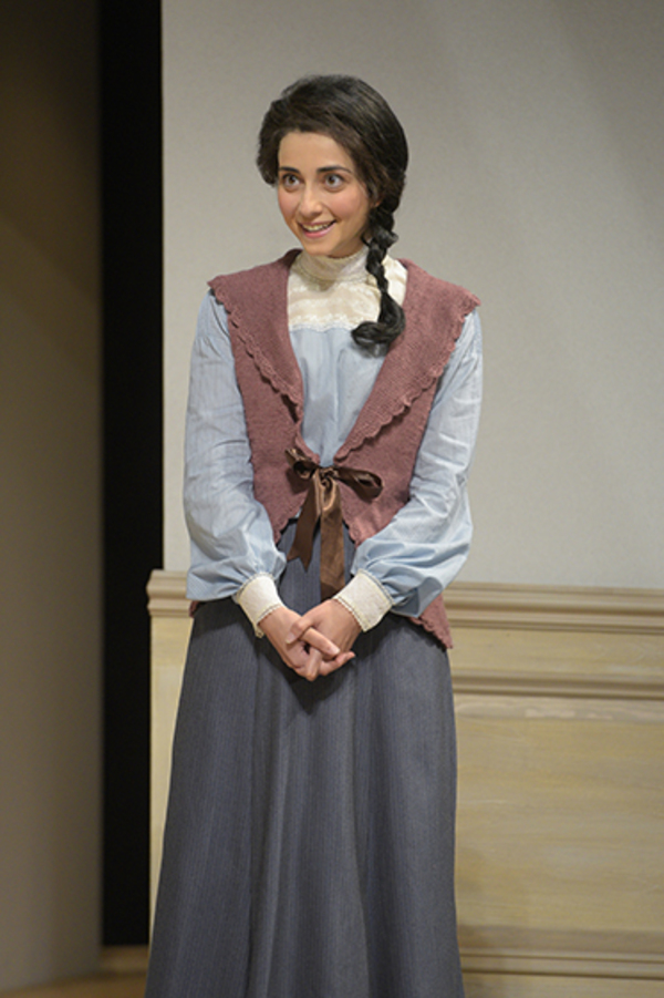 """Nikki Massoud (Emmy) in Berkeley Rep's production of �""""A Doll's House, Part 2"""" directed by Les Waters."""