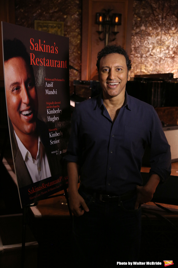 Photo Coverage: Aasif Mandvi Returns to the Stage in SAKINA'S RESTAURANT
