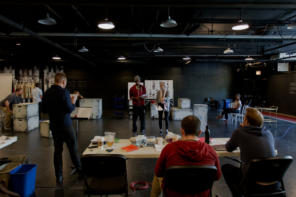 Photo Flash: In Rehearsal with Steppenwolf's THE CURIOUS INCIDENT OF THE DOG IN THE NIGHT-TIME