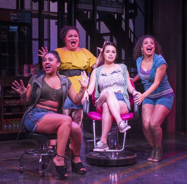 Stephanie Gomérez, Lillian Castillo, Sophia Macías and Alyssa V. Gomez