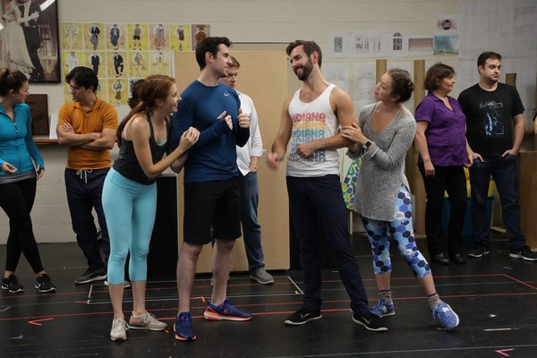 Photo Flash: Go Inside Rehearsals For Goodspeed's THE DROWSY CHAPERONE