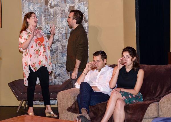 Hallie Wetzell, Nick Paone, Craig Hanson, Amanda Dubois Photo