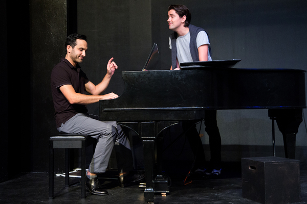 Photo Coverage: Sneak Peek of York Theatre Company's MIDNIGHT AT THE NEVER GET