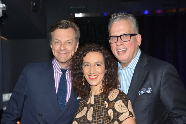 Jim Caruso, Gabrielle Stravelli and Billy Stritch