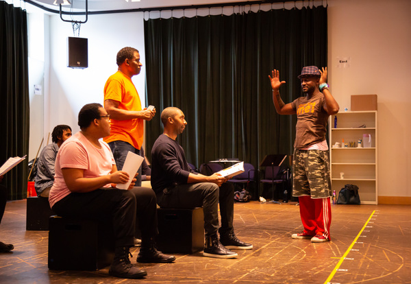 Photo Flash: In Rehearsal with THOUGHTS OF A COLORED MAN Workshop at Arena Stage
